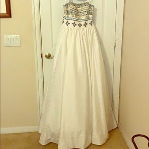 Stunning ivory ball gown